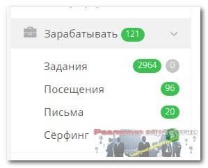Раздел Зарабатывать на Socpublic.com