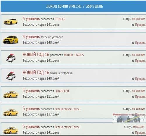 Доход 10 тыс. рублей в месяц с игры Taxi Money